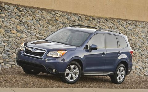 We can't get over how much better the CVT is in the 2015 Subaru Forester 2.5i Premium.