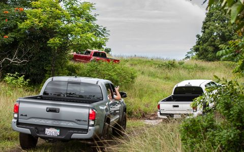 2017 Toyota Tacoma TRD Pro pickup truck