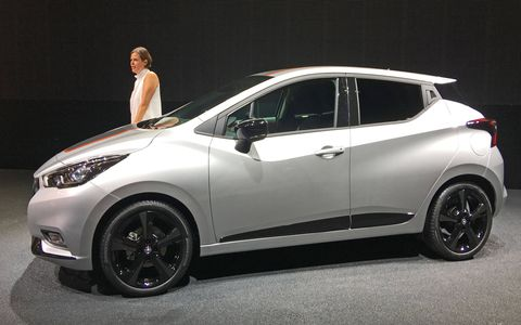 Nissan unveiled the fifth generation of the subcompact Micra at the 2016 Paris motor show. It's not slated for sale in the United States, but it's an interesting indicator of small-car trends.