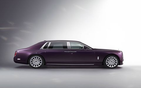 This is the all-new Rolls-Royce Phantom, the British marque's latest take on the ultimate luxury sedan. Pricing starts at $520,000, with deliveries to begin in early 2018.