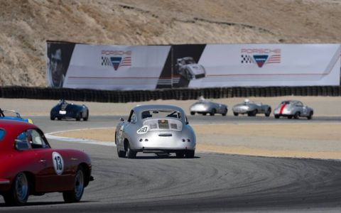 Before the 919, before the 962, heck, before the 904, there were small but glorious 550s, 356s and even a 718. All were celebrated and exercised at Rennsport Reunion.