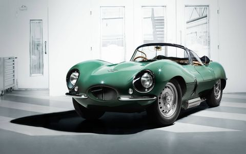 This stunning, brand-new Jaguar XKSS previews a run of nine painstakingly researched 'continuation' cars -- cars planned as part of the 25-unit XKSS production run, but lost to a factory fire in 1957.