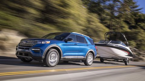 The Ford Explorer Hybrid could take you up to 500 miles on a single tank of fuel.