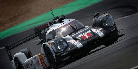 The Porsche 919 Hybrid of defending world champions Mark Webber, Timo Bernhard and Brendon Hartley took care of business in Germany on Sunday.