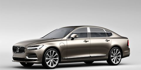 The S90 Excellence will offer a redesigned interior in addition to a longer wheelbase, one closer to business-class airline seats.