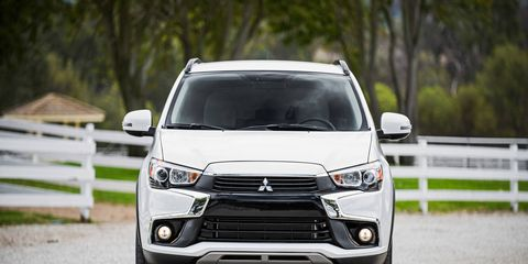 The updated 2016 Mitsubishi Outlander Sport made its first U.S. appearance at the LA Auto Show in November.