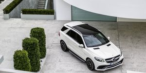 #1 Sunroofs that block UV rays: By now, most of us know exposure to UV rays can be harmful to the skin; while the glass used in moonroofs has long provided some measure of sunblocking, automakers are now being proactive about this problem by building stronger UV protection into moonroofs like the one on the Mercedes-Benz GLE63 shown here.