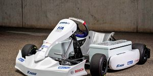 The Bosch e-kart is currently undergoing testing.