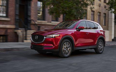 Mazda lifts the curtain off the new CX-5 at the LA Auto Show.