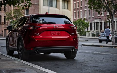 Perhaps the most noticeable upgrade to the CX-5 is the design. The new one really looks like a mini CX-9—which is no bad thing.