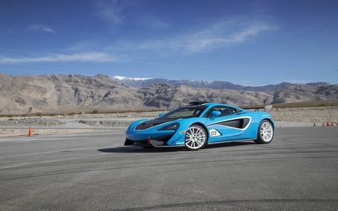 McLaren Special Operations builds customized McLaren cars like these special edition 570s'