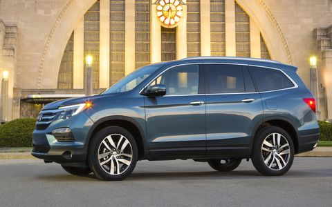 The 2016 Honda Pilot is lighter, more powerful and more efficient than its body predecessor. It's also more refined inside, boasting a quiet cabin that can be loaded up with tons of technology.