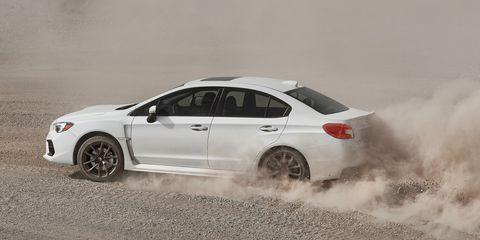 The 2019 Subaru WRX sticks with a 268-hp boxer four.