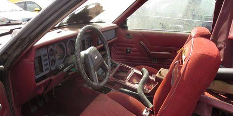 Bordello Red velour interiors were all the rage in 1984.