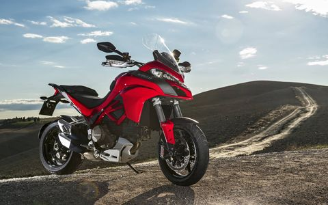 The 2017 Ducati Multistrada 1200 S can do just about everything, from dirt tracking to touring to sport riding to daily commuting. And with 160 hp every activity you choose will be downright thrilling.