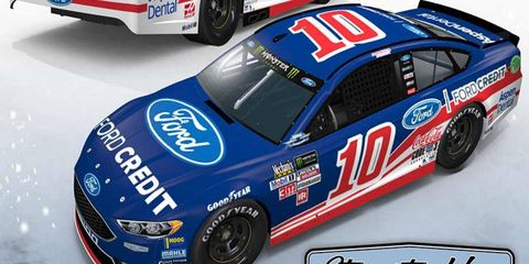 Danica Patrick's Southern 500 throwback scheme will honor Robert Yates Racing and the No. 88 that Dale Jarrett drove to the Winston Cup Series championship back in 1999.