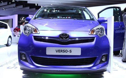 Paris Auto Show: Toyota Verso-S