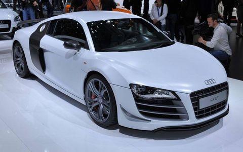 Paris Auto Show: Audi R8 GT