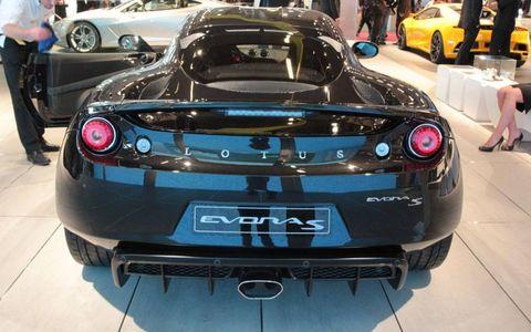 Paris Auto Show: Lotus Evora S