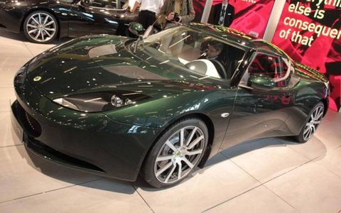 Paris Auto Show: Lotus Evora
