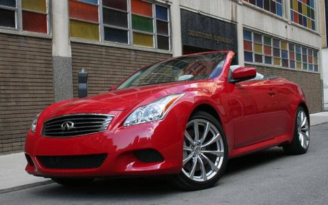 Driver's Log Gallery: 2010 Infiniti G37S Convertible