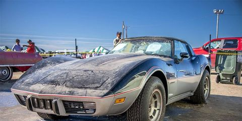 The 1978 Chevrolet Corvette indy pace car was the second highest lot, bringing in $80,000.