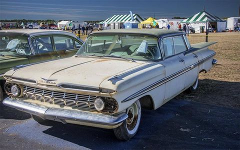 This 1959 Chevrolet Impala sold for $16,000.