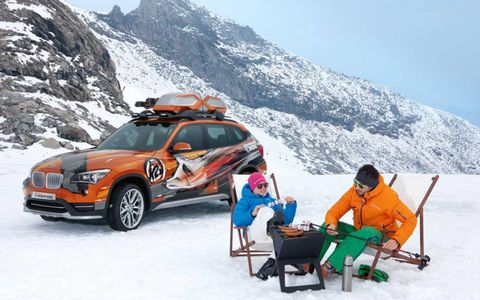 BMW will debut two X1 SAVs at the LA auto show, the Concept K2 and the Powder Ride Edition.