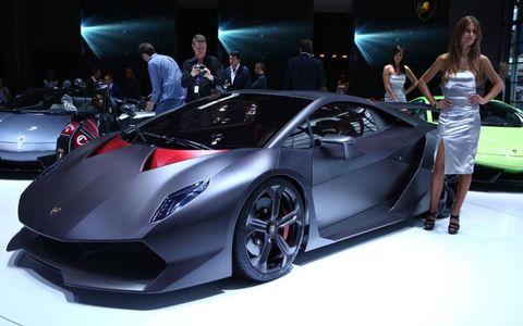 Paris Motor Show Gallery: Lamborghini Sesto Elemento Concept