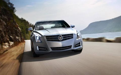 The drivetrain of the 2013 Cadillac ATS 2.0T features a 2.0-liter turbocharged I4, RWD, six-speed manual.