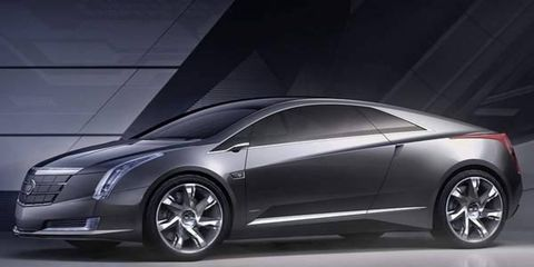 General Motors says it will build the Cadillac Converj hybrid car.