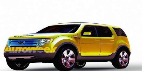 Our illustration shows what the 2011 Ford Explorer might look like when it arrives later this year.