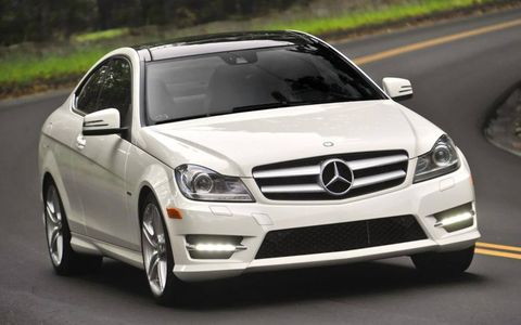 The Mercedes-Benz C-class is first on the list of most popular stolen cars between the years of 2009-2012 in the US.