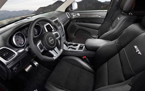 A clean, sporty interior makes the performance-oriented SUV a well-finished package.
