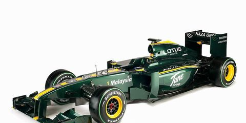 The Lotus T127 was revealed Friday