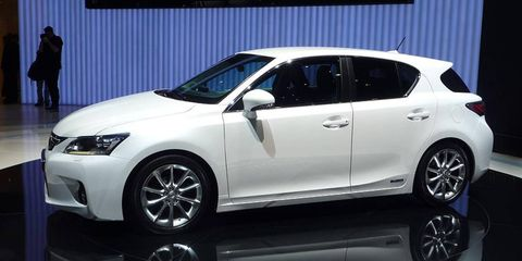 The Lexus CT 200h was designed with Europe in mind but will be sold globally.