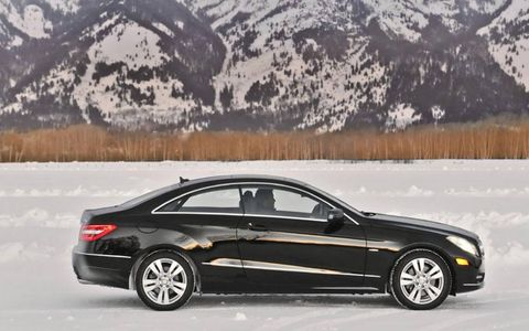 The 4Matic makes winter driving safer and easier.