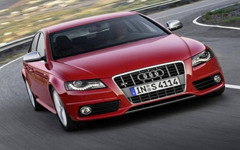 The S4 has a potent, 333-hp engine.