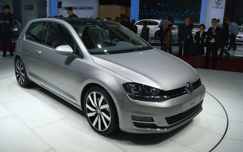 The seventh-generation Volkswagen Golf was chosen as the most significant car of the 2012 Paris motor show, and for good reason: the Golf has sold 29 million copies since 1974, and the new model shows every indication of carrying on in this tradition.