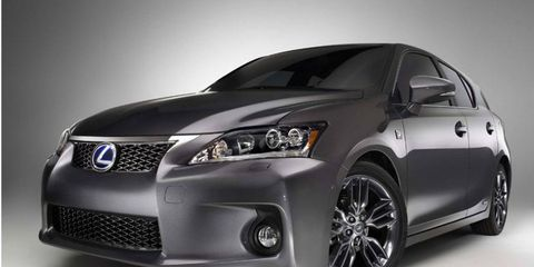 The 2012 Lexus CT200h Sport Special Edition gets sporty interior and exterior mods