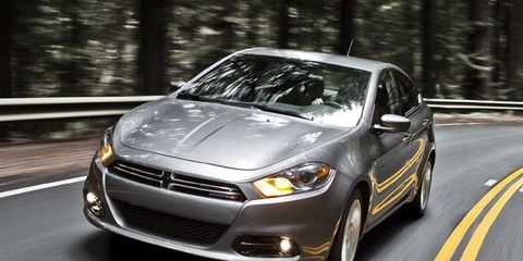 The base price for a Dodge Dart starts out at $20,990.