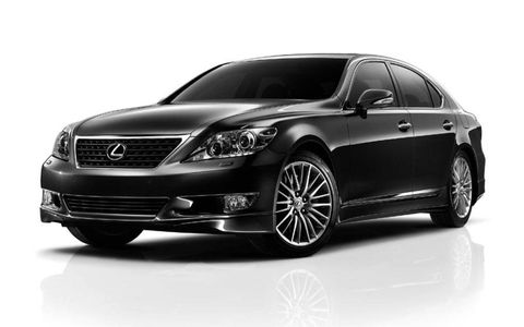 The 2012 Lexus LS460 Sport Special Edition gets wheels and trim upgrades, along with some performance options