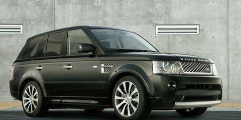 The Range Rover Sport