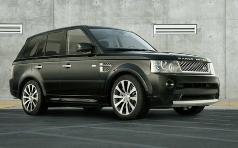 The Range Rover Sport