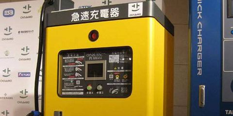 There are already 1,000 electric vehicles of various brands on Japanese roads and 150 quick-charging stations nationwide.
