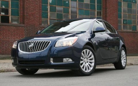 Driver's Log Gallery: 2011 Buick Regal CXL