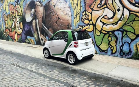 As an EV the 2013 Smart Fortwo Electric Drive is at home in the city.