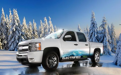 VIA Motors converts full-size GM pickups, vans and SUVs into series hybrids for $15,000.