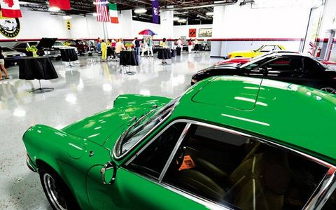Retired attorney Joe Polito is the one who made the Woodward Warehouse a reality. Polito is a certified car nut -- he has 11 cars in his personal collection.
