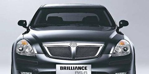 Brilliance sold just 46 BS6s in Europe last year, and 321 between 2007 and 2009.